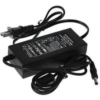 110V-230V выход 12V вход 5A 60W адаптер питания для светодиодных полос света SMD (вилка США) Чёрный