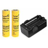 Шт tangsfire 18650 аккумуляторная батарея 3.7 V 3800mah литий-ионный без защиты доска Жёлтый