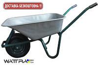 Тачка строительнаяFORTE WB6414T  (170 л / 160 кг) (31247) одноколесная с усиленной рамой