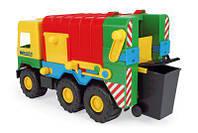 """Машина """"Мусоровоз """"Middle truck"""" в пак. 35*20*17см (12 шт.), ТМ Wader(39224)"""