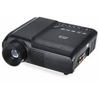 EPL007 портативный ЖК-проектор DVD-плеер Мультимедиа для домашнего кинотеатра 60 Люмен 320 х 240 родное Разрешение Чёрный
