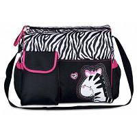 Большая сумка для вещей для ухода за ребенком с узором жираф Красный цвет (как у