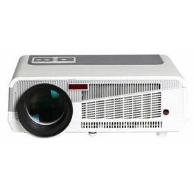 HTP LED-86+ светодиодный проектор с разрешением 1280 x 800 родное разрешение 3600 люмен модный изысканный дизайн поддержка 1080p 2 х HDMI 2 х USB вход