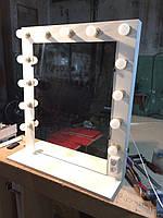 Гримерное зеркало, зеркало для визажиста, зеркало с лампами