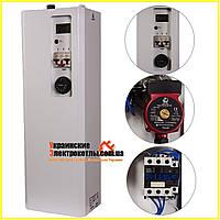 Электрокотел для отопления Warmly Classik-M 3 кВт 220В. С Насосом. До 35 м.кв. Тихоходное Реле