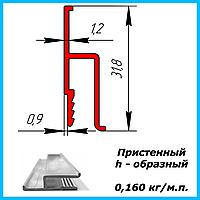 Алюминиевый пристенный профиль для натяжных потолков, фото 1