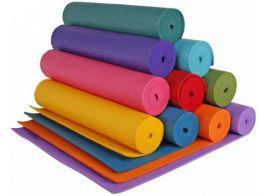 Йогоматы, коврики для фитнеса