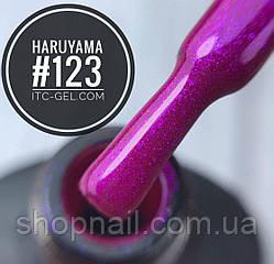 Гель-лак Haruyama №123 (розово-фиолетовый с микрошиммером), 8 мл, фото 2