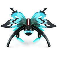 JJRC H42WH Butterfly мини радиоуправляемый квадрокоптер-RTF Цвет оазиса