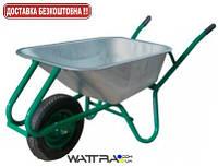 Тачка строительнаяForte WB9618 (0,17 куб.м /200 кг) одноколесная с усиленной рамой (37968)