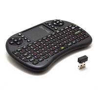2.4GHz UKB-500-RF мини беспроводная клавиатура мышь комбинация сенсорной панели мини клавиша Чёрный