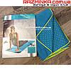Полотенце коврик для йоги, фитнеса CRANE 183х60см