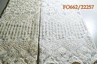Гардина сетка с вышивкой