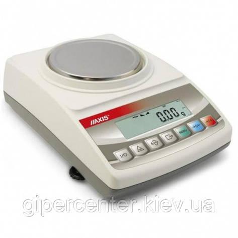 Весы лабораторные AXIS BTU210 до 210 г, дискретность 0.001 г, фото 2