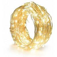 YWXLight светодиодные строки света многоцветный медный провод открытый звездный свет для вечеринки дома Тёпло-белый