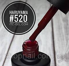 Гель-лак Haruyama №520 (темно-красный), 8 мл, фото 2