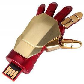 16GB Железный Человек робот гибкая-ладонь-образный USB флэш-диск - Красный