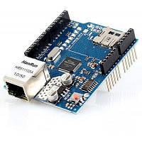 Щит Ethernet с фирмы wiznet локальных сетей w5100 чип Поддержка Micro SD карты-Arduino совместимый
