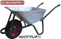 Тачка строительная WERK WB0851 (170 л / 160 кг) одноколесная с усиленной рамой (35418)