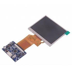2-канальный 3.5 дюйма TFT ЖК дисплей мониторный модуль реального цвета - Синий