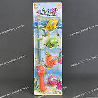 Игровой набор Рыбалка (1 удочка + 4 рыбки)