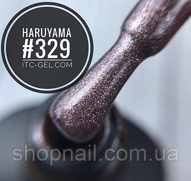 Гель-лак Haruyama №329 (розово-коричневый с шиммером), 8 мл, фото 2