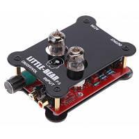 HiFi Tube P5 Стерео аудио ламповый усилитель для наушников Чёрный