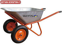 Тачка строительная BUDFIX WB6404W двухколесная, объем вода / песок 90/170 л, грузопод-сть 200 кг, вес 15 кг