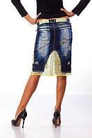 Женская юбка с шифоном