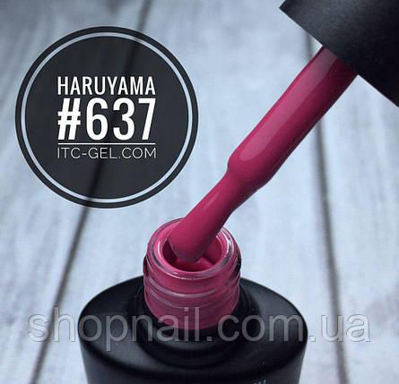 Гель-лак Haruyama №637(розово-малиновый), 8 мл, фото 2
