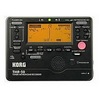 Тюнер-метроном-рекордер цифровой Korg TMR-50-BK