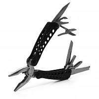 Нож ganzo G204 полезный многофункциональный инструмент плоскогубцы 24 инструментов в одном для путешествий и домашнего использования Чёрный