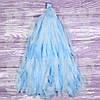 Гирлянды тассел голубые, 35 см, 5 шт