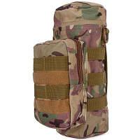 Высокая плотность водонепроницаемость чайник мешок для военных утилита путешествия талии пакет Повседневная Сумка чайник CP камуфляжный