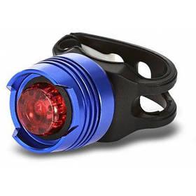 Как yh - 002 Водонепроницаемый Красный светодиод велосипед заднего света безопасности хвост свет лампы - Цветной