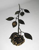 Роза кованая золотая 02, фото 1