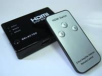 Коммутатор HDMI Switch 3x1 Rm-306 с пультом ДУ