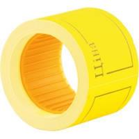 Цiнник рамка 6 метрiв,5шт./туб, жовтий,Ф.
