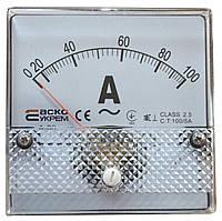 АС Амперметр трансформаторного включения 100/5А Модель А-80