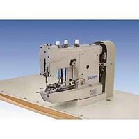 Пуговичная машина  для пришивания цепным стежком плоских пуговиц
