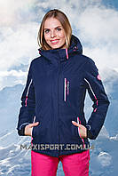 Куртка горнолыжная женская Freever 7206 Deepblue
