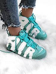 Женские Кроссовки Nike Air More Uptempo Mint