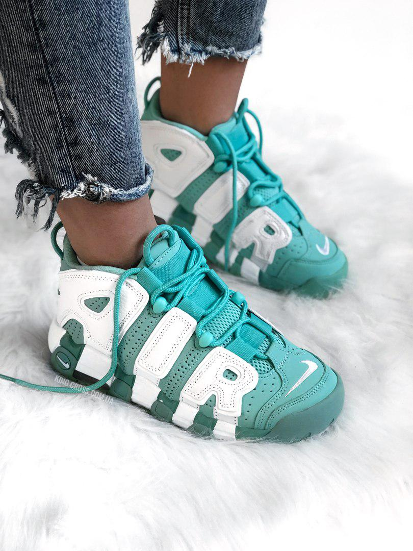 Женские Кроссовки Nike Air More Uptempo Mint