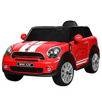 Электромобиль р/у, 2,4G, 2 мотора, 2 аккум.6V7A, кож.сид., колеса ЕВА, USB, MP3, красный(1шт)(JJ2258EBLR-3)