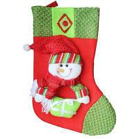 Рождественский декоративный мешок чулок для подарков 3D Цветной