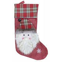 Рождественский декоративный мешок чулок для подарков Цветной