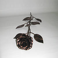 Роза кованая бронза 01, фото 1