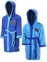Махровый халат для мальчиков Spider-Man оптом, 2/3-5/6 лет.