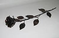 Роза кованая бронза 02, фото 1