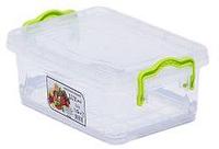 """9,5л. Контейнер пищевой Lux №7 (37,5 * 25,5 * 16,6см) """"AL-Plastik"""""""